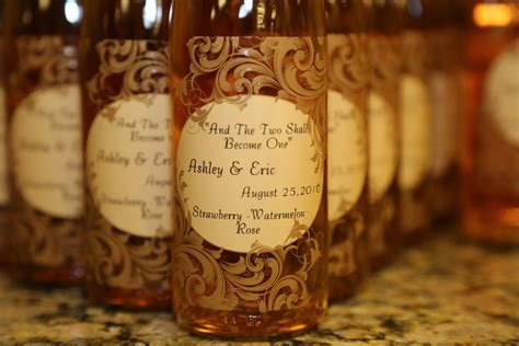 Wedding Favors Wine Bottles by Wine Bottle Wedding Favors You Make With Custom Labels