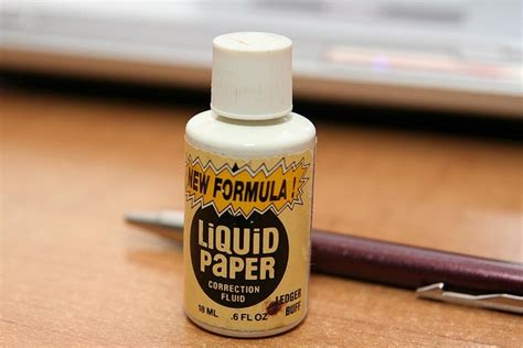 How To Make Liquid Paper - correction fluid made by liquid paper school my