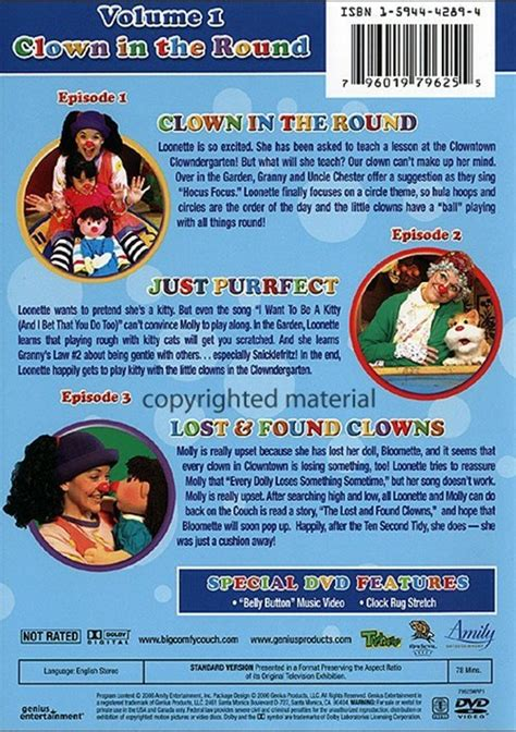 the big comfy couch dvd big comfy couch the season 7 volume 1 dvd 2006 dvd
