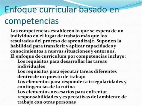 Evaluación De Un Modelo Curricular Por Competencias Modelo Curricular Por Competencias