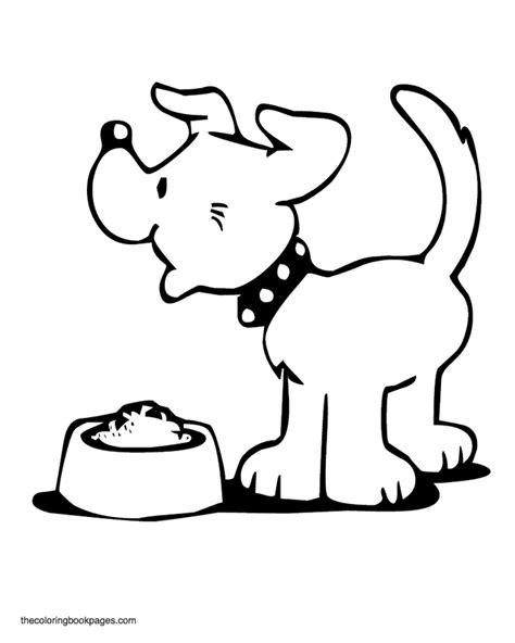 dog treat coloring page dog coloring book page coloring home