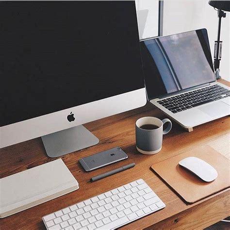 Computer Desk Apple Best 25 Imac Desk Ideas On Desk Ideas Desk And Office Desks For Home