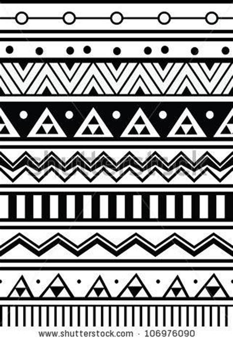 tribal line pattern the aztec designs mai life magazine