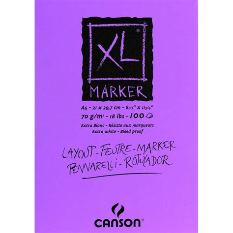 Canson Marker xl marker canson dalbe fournitures beaux arts