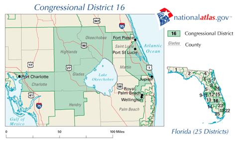 port st florida map port st fl congressional district and us