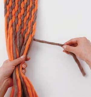 how to finish finger knitting a scarf finger weaving from japan s naoko minowa vickie howell