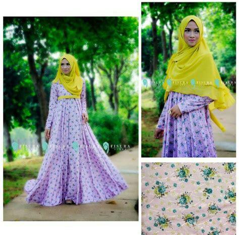 Khimar Miska 1 miska set flower by fisura melody fashion