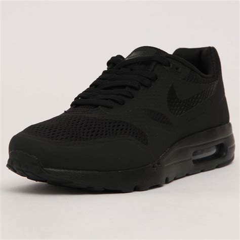 Nike Air Max One Black nike air max 1 ultra essential black the sole supplier
