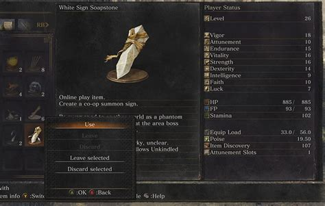White Soapstone Souls souls 3 how to play co op leave summon signs