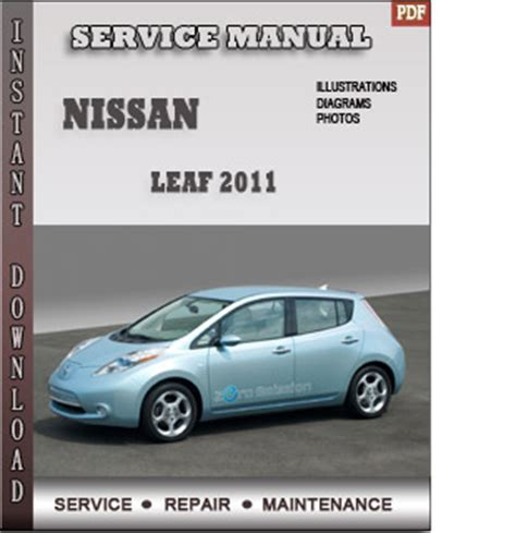 service and repair manuals 2011 nissan leaf user handbook 2011 nissan leaf service repair manual