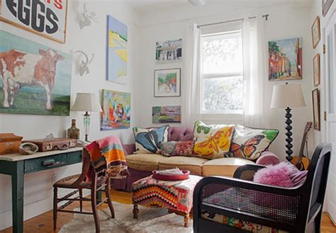 bohemian style decorating ideas boho chic style are you a fan town country living