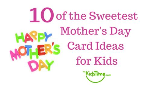 mothers day cards ideas for children to make 10 of the sweetest mothers day card ideas for