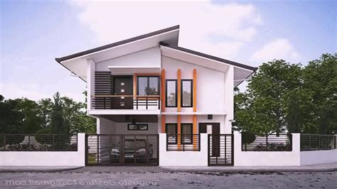 modern house design in pinoy with attic model houses design in the philippines