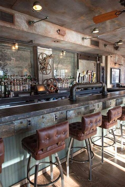 pinterest bar steunk bar farmhouse industrial restaurant desig