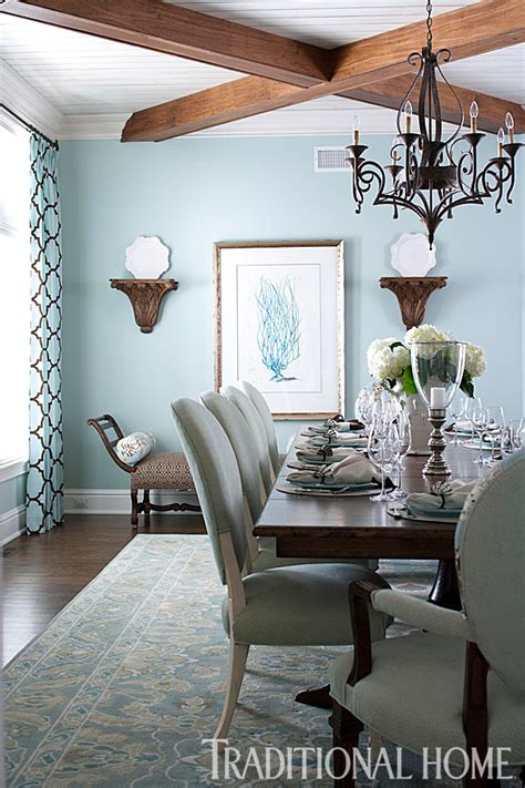 brown and blue dining room blue brown and aqua color palette places in the home