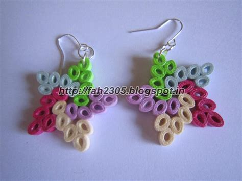 Handmade Quilling Paper - handmade jewelry paper quilling earrings these