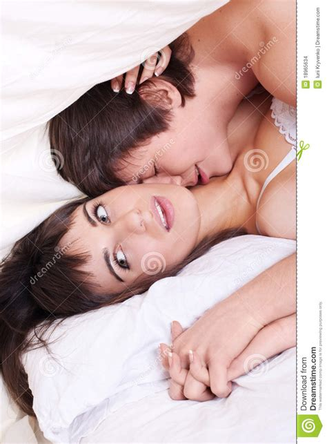 making love in bed couple making love in bed stock photo image of kiss
