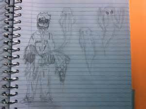 Possesed security guard fnaf drawing laughingskater 169 2015 nov