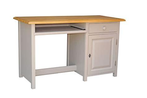 bureau en pin massif bureau informatique en pin massif