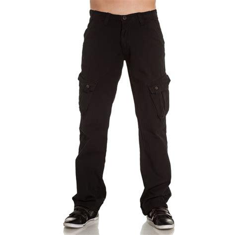 43627 Denim Style sixth june pantalon homme en toile noir blz