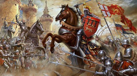 fonds decran  moyen age chevalier fantasy