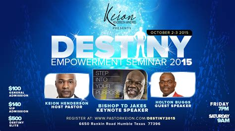 holton buggs house destiny2015 empowerment seminar day 2 cleeng