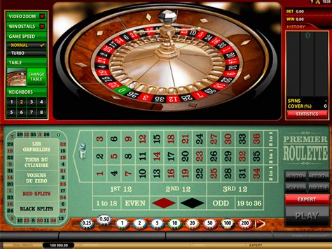 play premier roulette  microgaming  roulette games