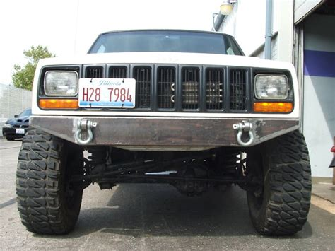 jeep metal bumper ares fabrication xj bumpers jeep forum