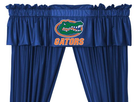 florida gators curtains new ncaa florida gators drapes valance set long curtains