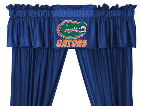 florida gator curtains new ncaa florida gators drapes valance set long curtains