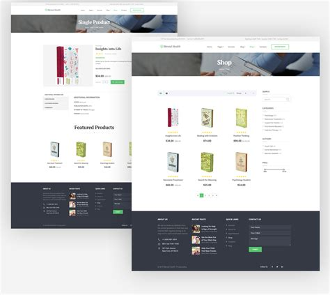 templates bootstrap slider mental health responsive website template with creative