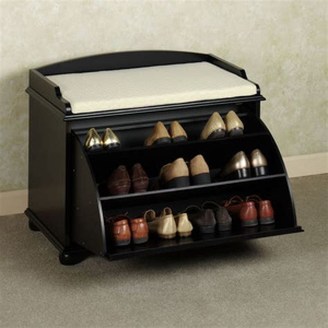 bench with storage for shoes entryway shoe storage bench everything simple
