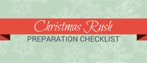 preparation of christmas pdf prepare for the with this preparation checklist