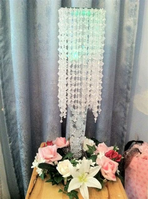 wedding centerpieces chandelier chandelier centerpiece weddingbee photo gallery