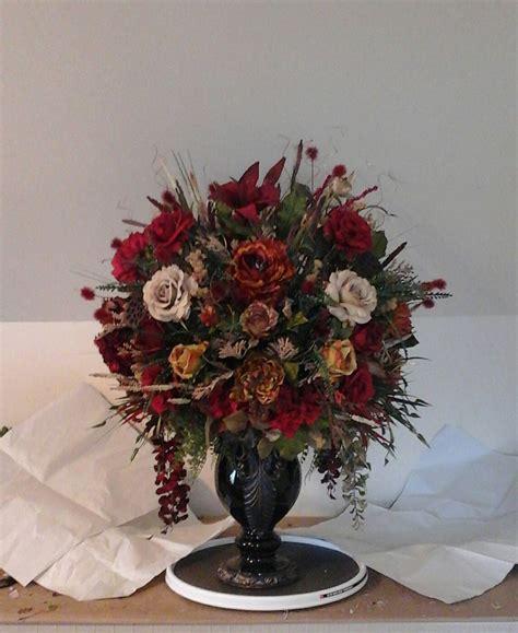 floral arrangement xl tuscan silk centerpiece shipping