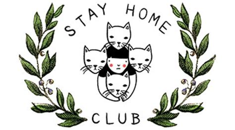 stay home club design for the disgruntled