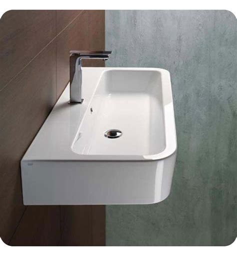 sinks for narrow bathrooms nameeks 694011 gsi bathroom sink