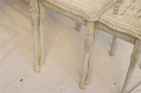 shabby chic nest of tables no 10 touch the wood