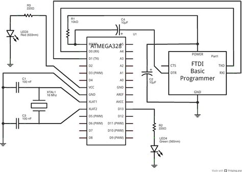 how to make arduino wiring diagram circuit and
