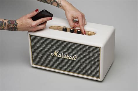 Speaker Bluetooth Marshall marshall s intros new stanmore wireless speaker digital trends