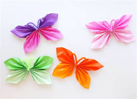 tutorial membuat pita dari origami kerajinan tangan kupu kupu dari kertas dan cara membuatnya