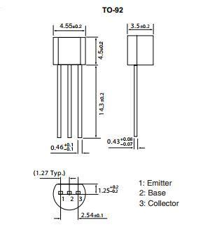 jenis transistor c9012 jual 9012 c9012 9012i pnp silicon epitaxial planar transistor parts shop