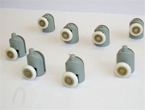 ruote per box doccia kit ruote da 4 o 8 pezzi cuscinetti per box doccia da 6 mm
