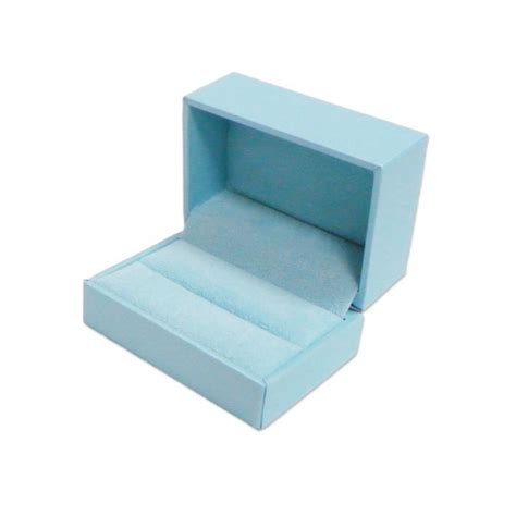 light blue jewelry box light blue leatherette ring box jewelry display inc