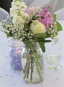 wedding jar centerpieces jar table centerpieces lake conroe wedding onewed