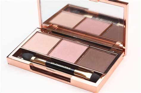 Review Eyeshadow Trio Viva dr hauschka s eyeshadow trio makeup and
