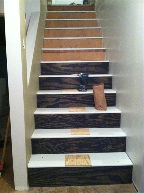 Lackieren Düse Größe by We Bought Mdf Stairs And Plywood Treads Brady Took 8