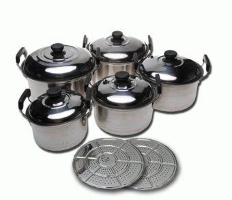 Panci Kingko Streamer Set 5 Pcs 555 panci steamer set 12 pcs dilengkapi steamer