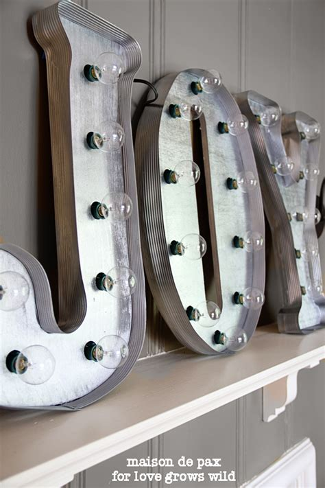 light up metal letters hobby lobby 25 diy decorations the 36th avenue