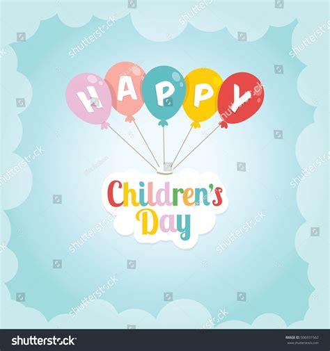 s day vector happy childrens day vector background vector stock vector
